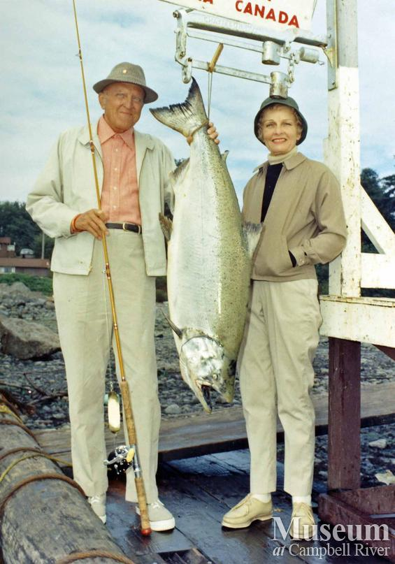 Mr. Merle S. Jones with his catch