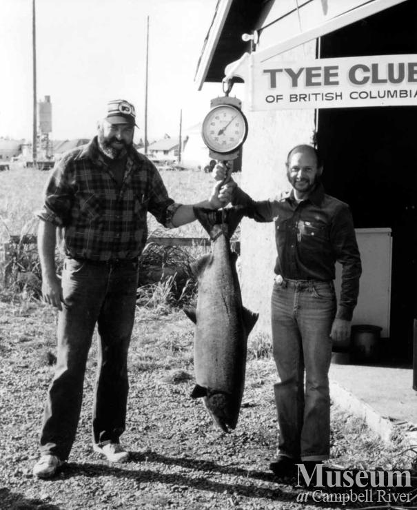 Len Franks and Brian Taylor – Tyee Club