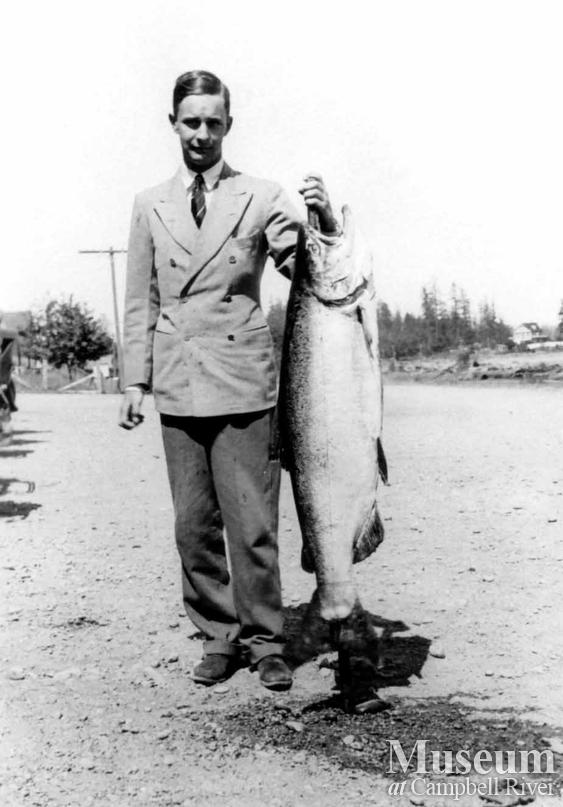 W.W. Astor with catch