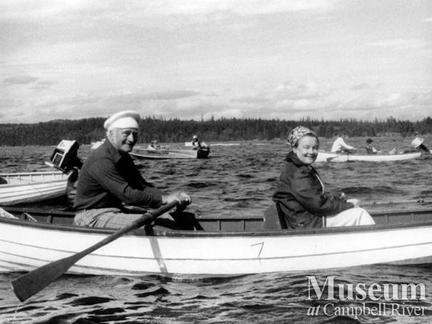 Dr. Richard and Mary Murphy on the water