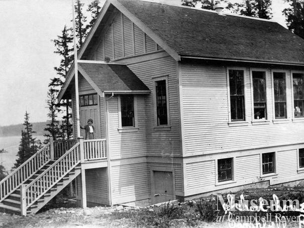 Campbell River's first school