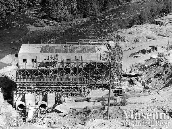 Construction of the John Hart Generating Station