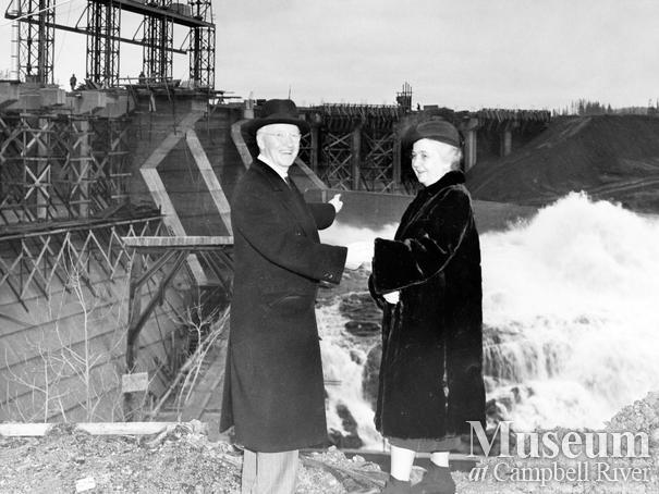 Premier John Hart and Mrs. Hart