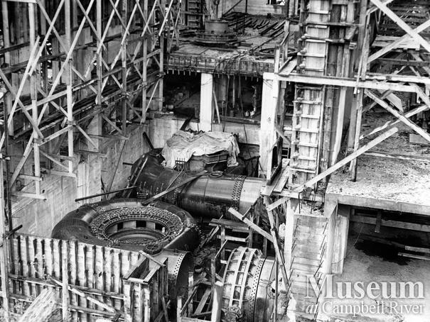 Construction of the John Hart Generating Station