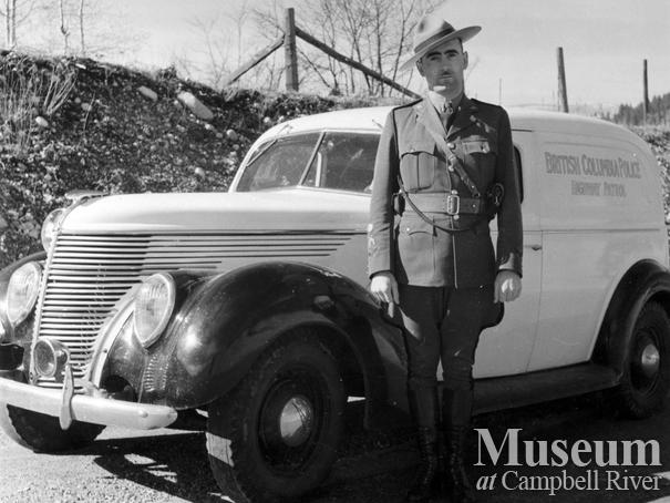Campbell River police officer Mac MacAlpine