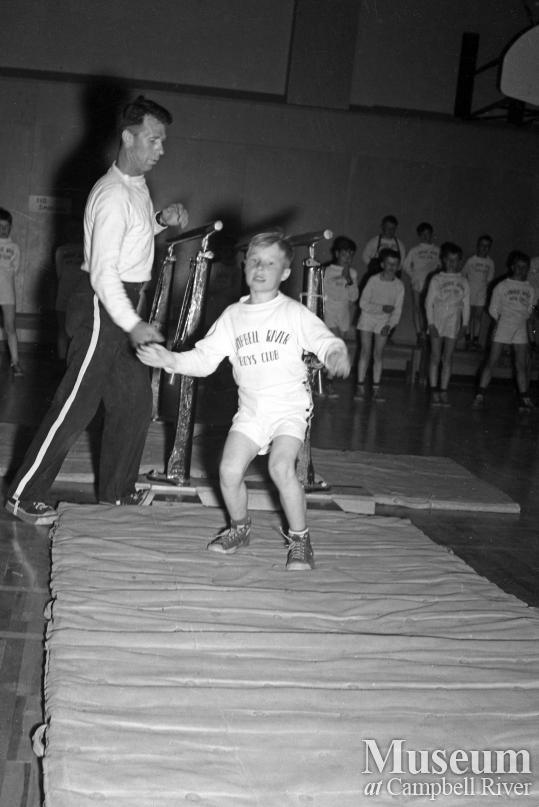 Campbell River Boy's Club gymnastic event