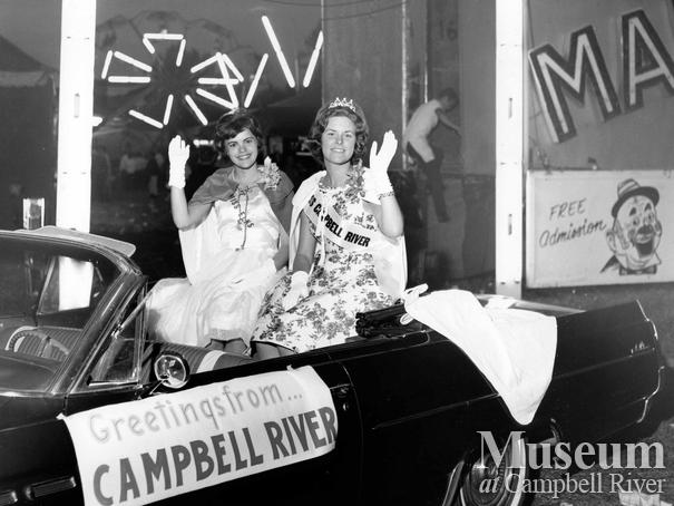 Miss Campbell River at the Vernon Winter Carnival