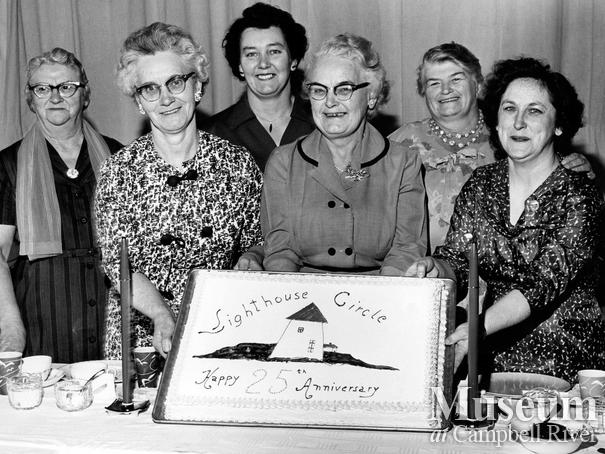 Campbell River ladies group the Lighthouse Circle  celebrates their 25th Anniversary