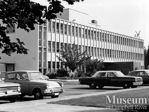 Campbell River  and District General Hospital,	Sept. 15, 1965