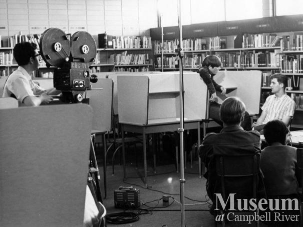 CBC film crew visits Senior Secondary School
