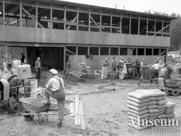 Construction of Community Hall