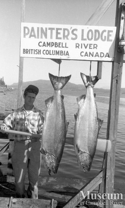 Unknown angler with catch