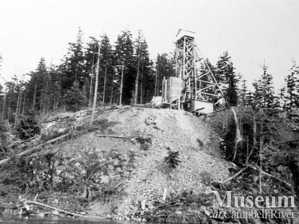 Ripple Rock construction site
