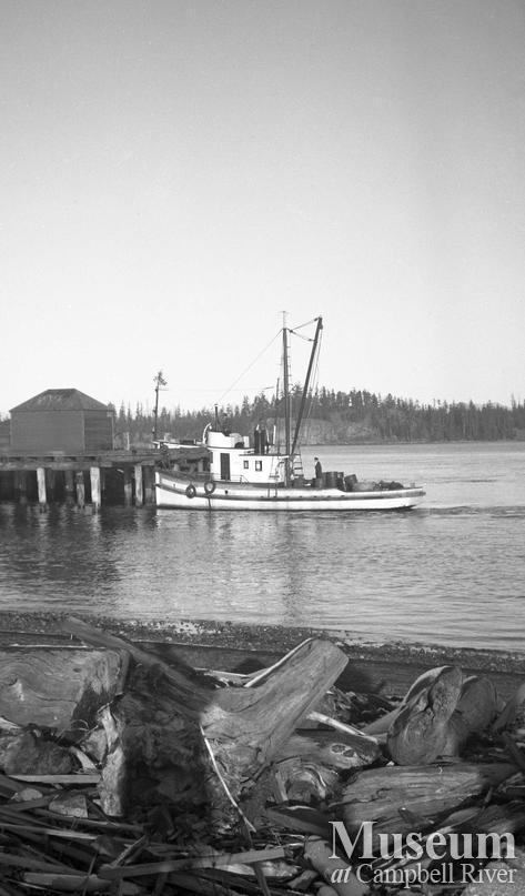 James Henderson's boat - the 'Shizoka'