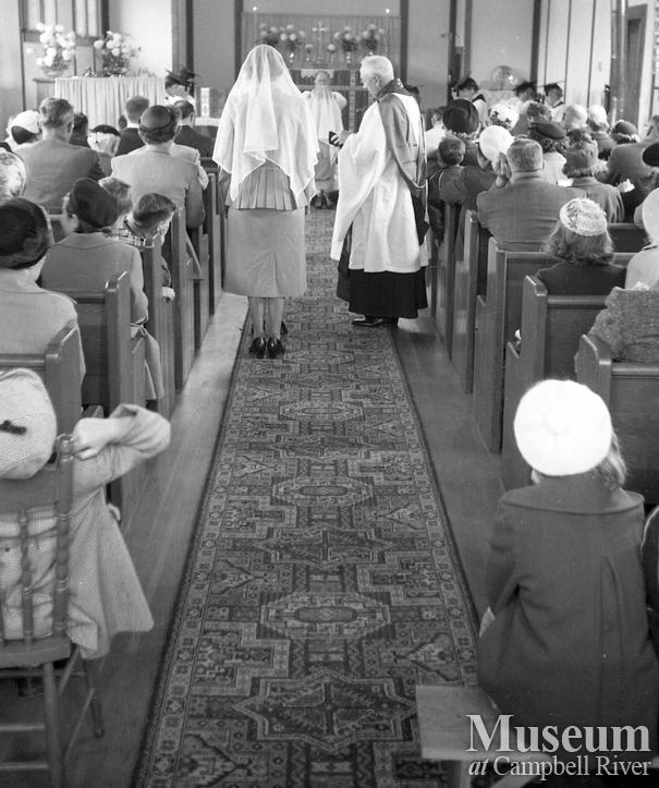 Interior of St. Peter's Anglican Church, Campbell River
