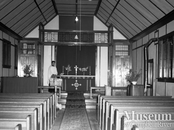 Interior of Anglican Church