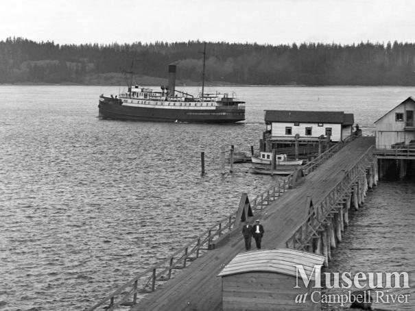 The Wharf and Union Steamship 'Chelohsin'