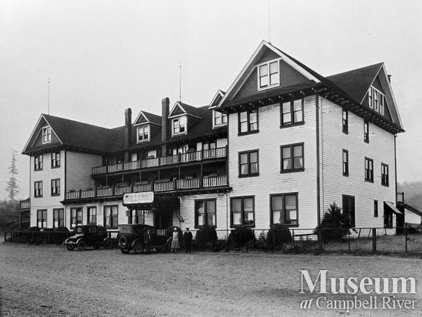 View of the Willows Hotel, Campbell River