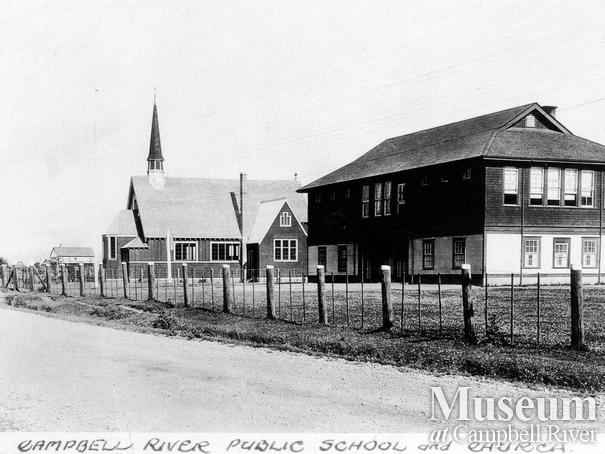 Campbell River Public School  and Anglican Church