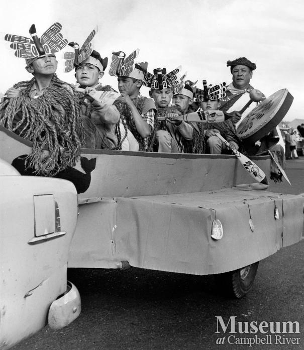 July 1st Parade, Campbell River, 1966