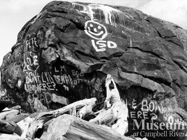 Graffiti on the Big Rock