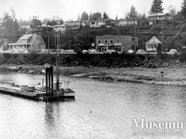 Campbell River Waterfront, 1968.