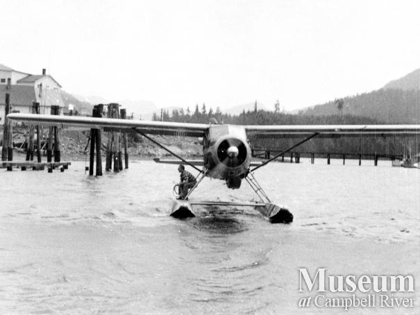 RCMP float plane, the 'Wren'