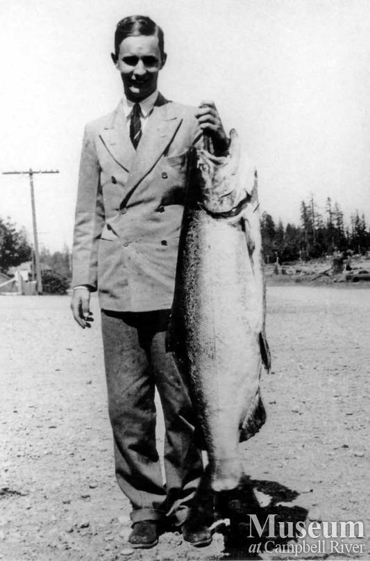 W.W. Astor with catch