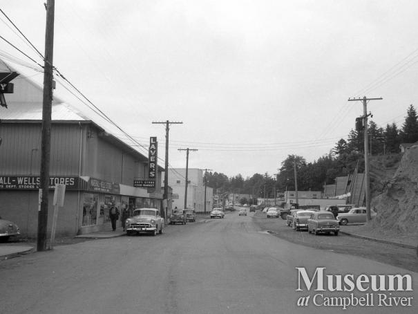 Downtown Campbell River, 1955